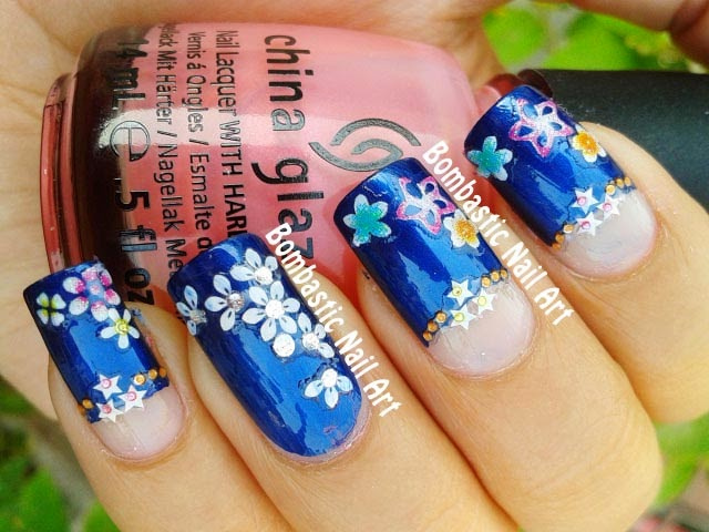 Nail art 27 organic nails with awesome nail art result for 3d nail art salon new jersey