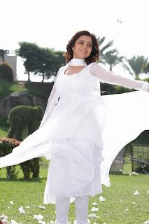 Nisha Agarwal Latest Pictures Gallery in White Sal Kameez 0010.jpg