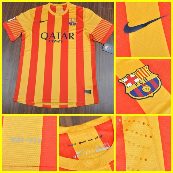 Barcelona away 2013-2014 Player Issued