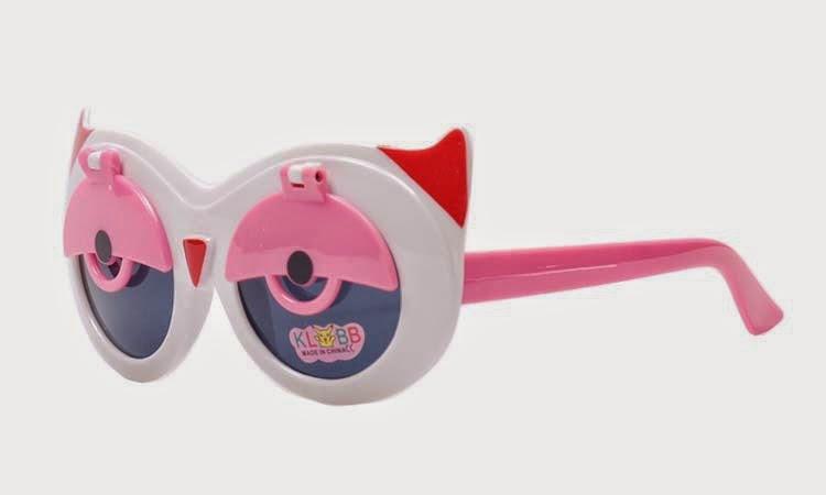 Gambar kacamata keren pink untuk anak kecil