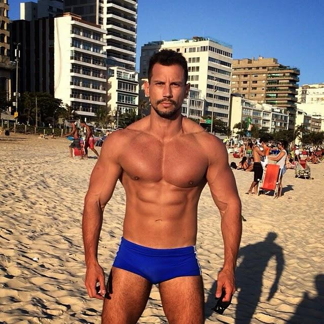 O personal trainer Bruno Maia atua na profissão há oito anos. Foto: Arquivo pessoal