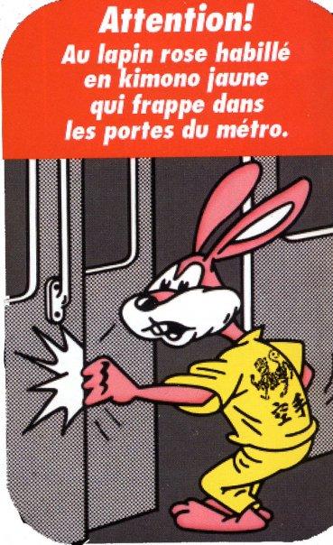 M tro le quai des insolites le lapin du m tro - Les portes du penitencier original ...