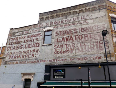 cakebread robey ghost sign stoke newington london
