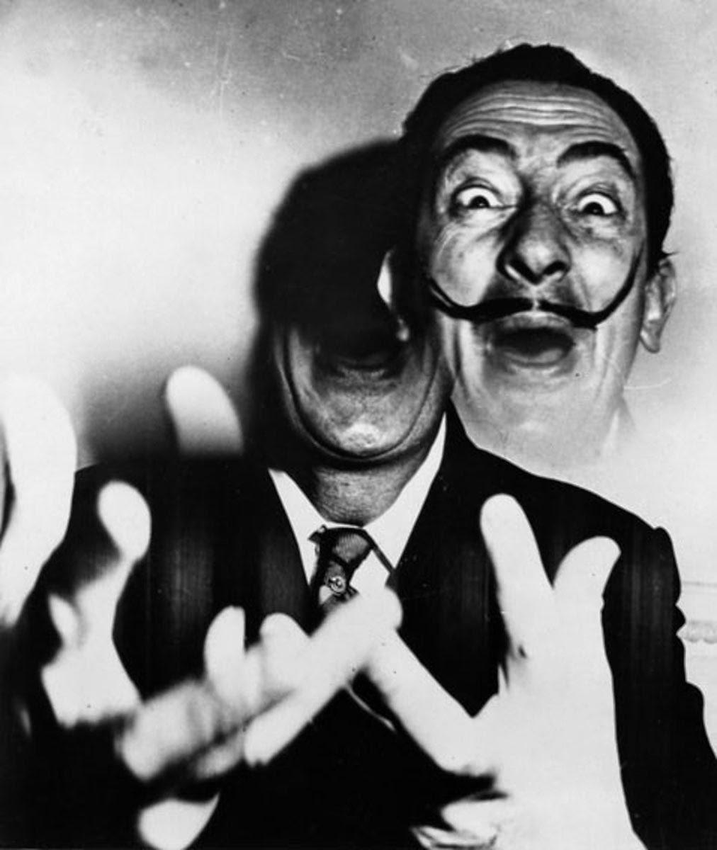 Salvator Dalì visto da Weegee, 1950