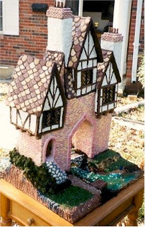 Stunning Gingerbread Swiss Chalet by Susan Palmer.