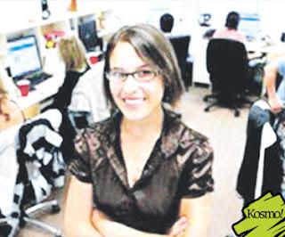Gambar Pengasas atau Founder MyYearBook, Catherine Cook