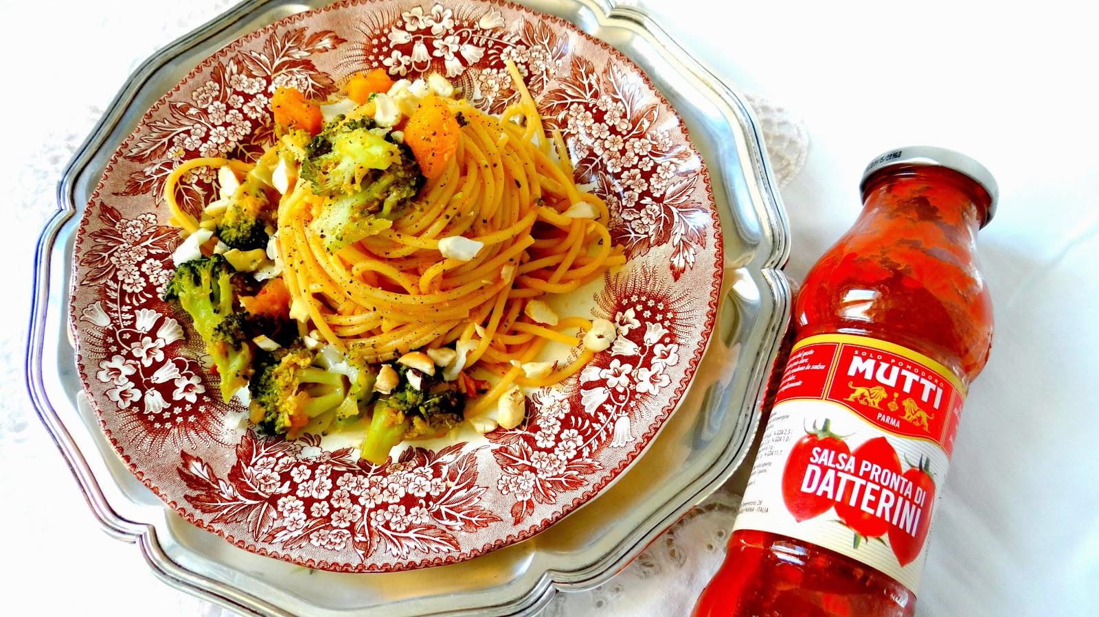 Mutti, pomodoro, salsa,zucca, broccoli, pranzo,