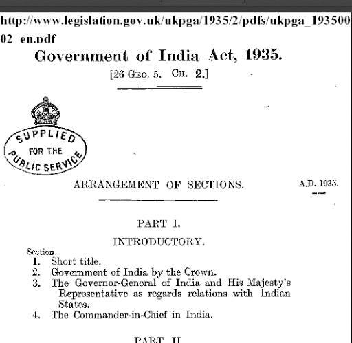 Image result for government of india act 1935