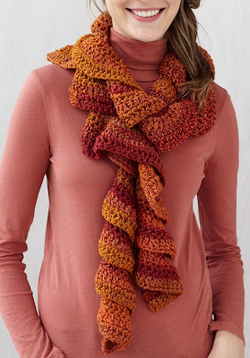 Ruffle Scarf for Women