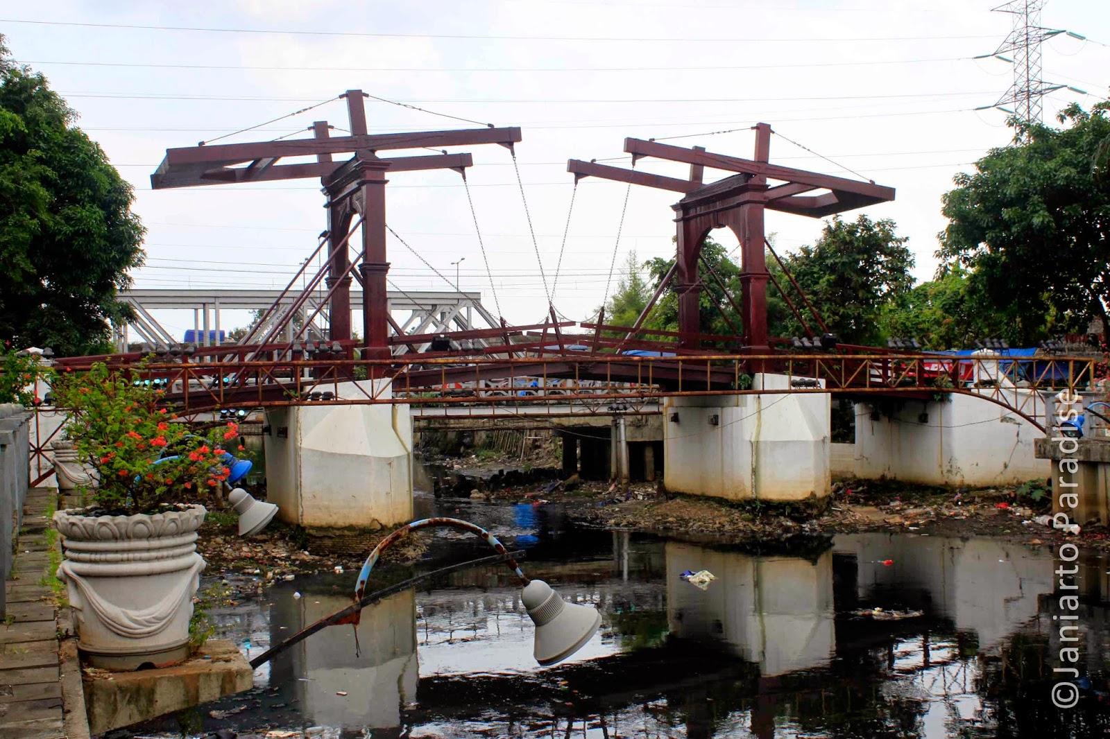Krukut River - Jakarta Old Town