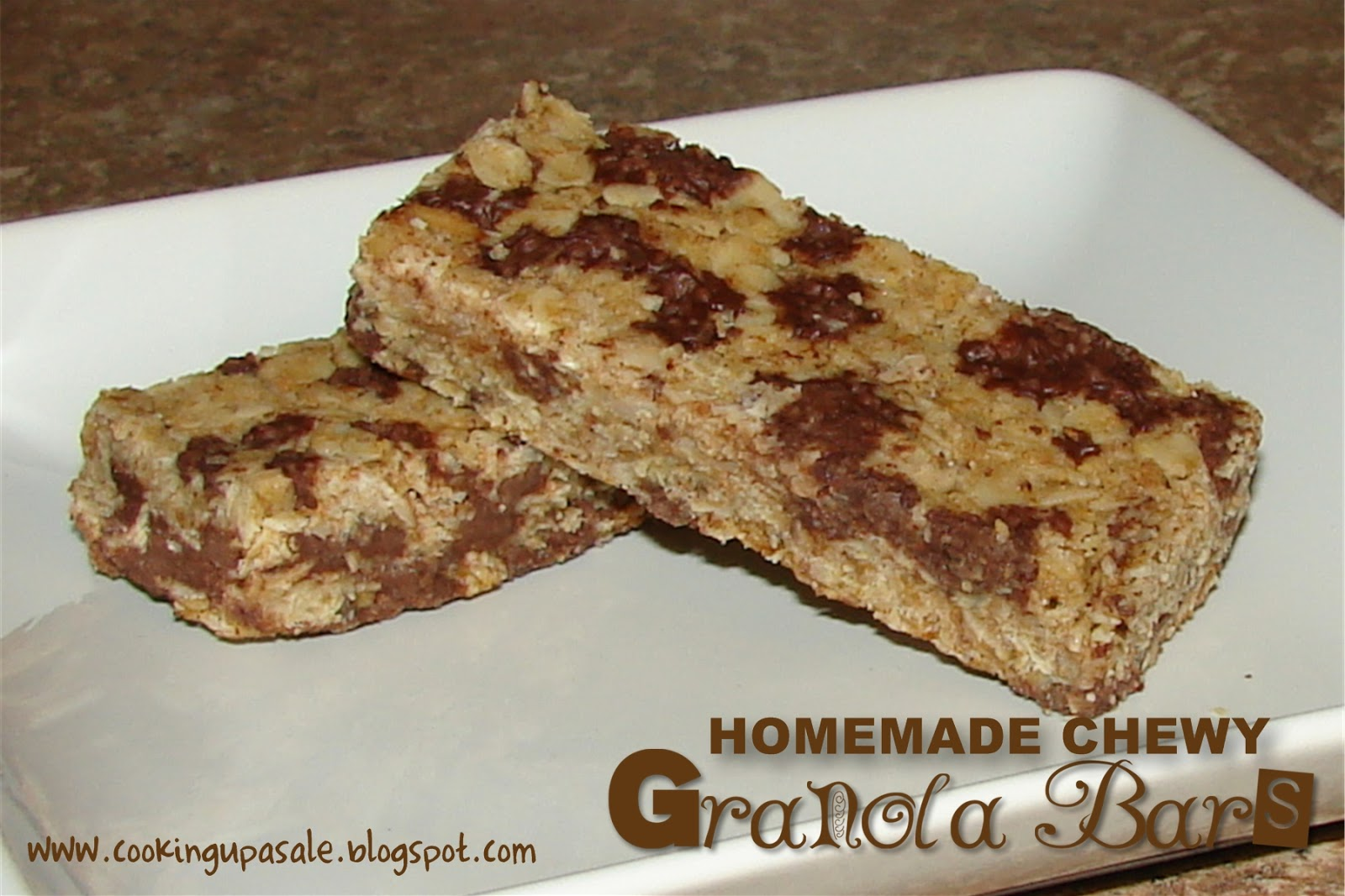 Cooking Up a Sale: Homemade Chewy Granola Bars