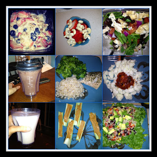 A typical Day Of the Eat Clean Stripped Diet