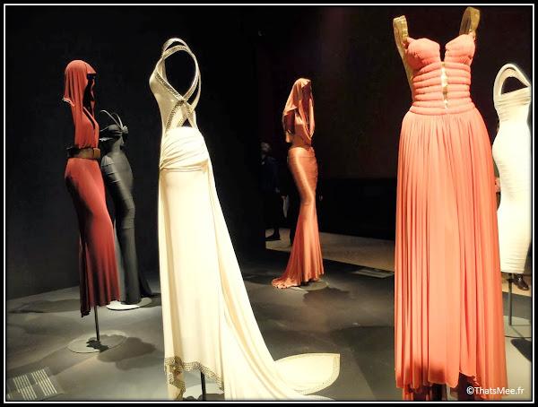 Expo Azzedine Alaia Palais musée Galliera musée de la mode Paris couturier  robes soirée bal