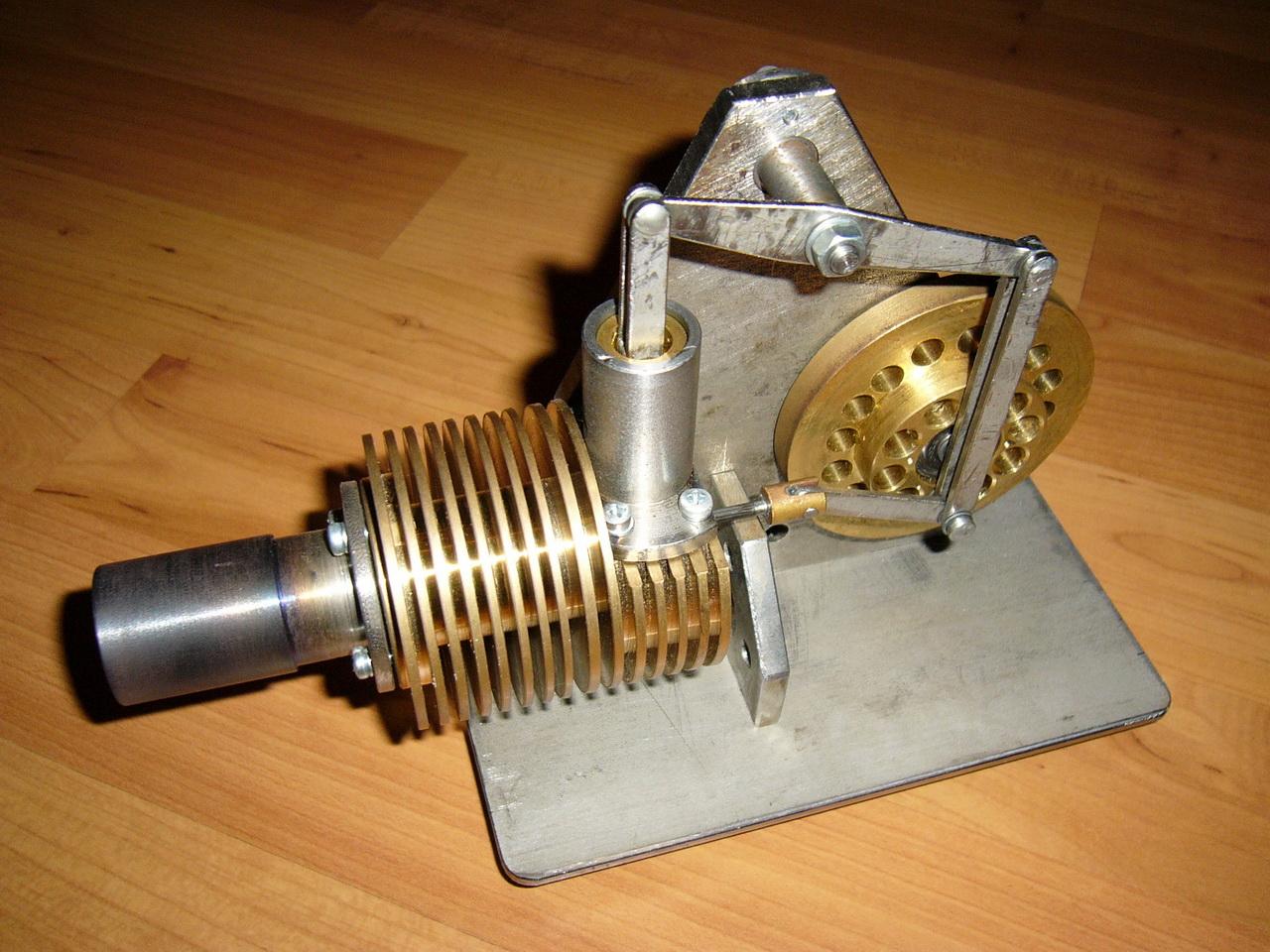 Двигатель Стирлинга своими руками 23