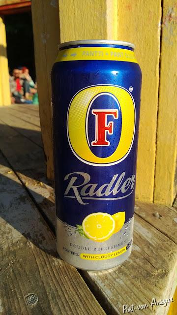 echtes australisches Radler in Finnland