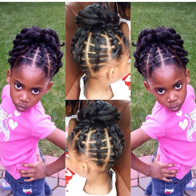 For Inspiration Showing The Beautiful Styles You Can Achieve With Curly Hair I Scoured Instagram 20 Elaborate Natural Hairstyles Children