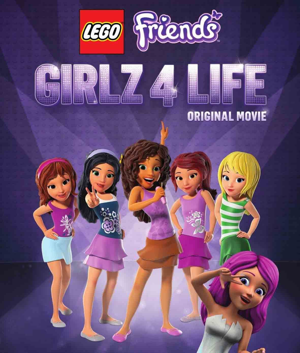 LEGO FRIENDS: Girlz 4 Life Torrent - Blu-ray Rip 720p e 1080p Dublado (2016)