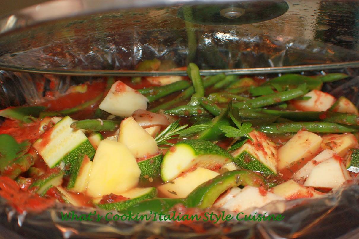 Italian Vegetable Stew Crockpot Recipe