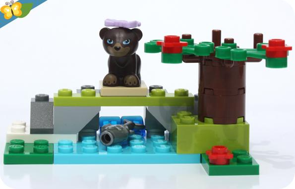 LEGO® Friends Animaux - Série 5 - L'ours brun et sa rivière
