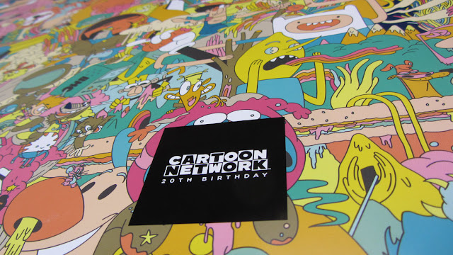 Cool Cartoon Network Birthday Book Artwork