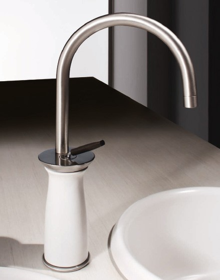 Home decorating kitchen faucets trends magazine january 2012 for Kitchen faucet trends