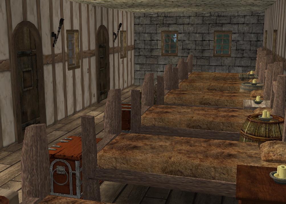 Ts2 Medieval Knight S Training Barracks History Lover S