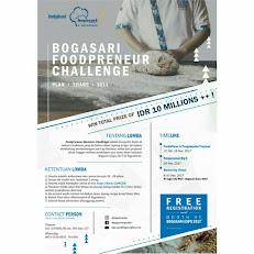 Bogasari Foodpreneur Challenge 2017 [Gratis]