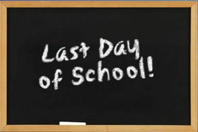 Essay - My last day at school | HappyMela.blogspot.com