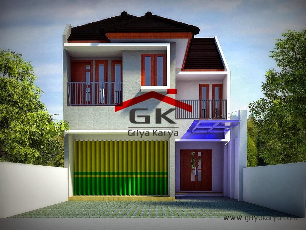 desain rumah bentuk rumah toko 1 5