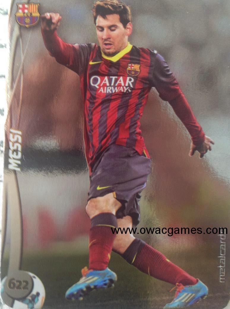 Messi Metalcard