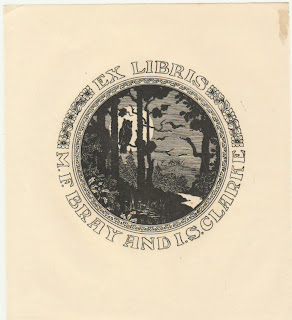 Ernest W. Oldham Bookplate