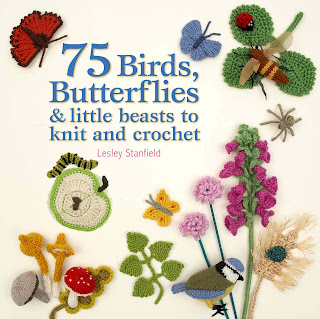 Book Review: 75 Birds, Butterflies & Little Beasts to Knit and Crochet by Lesley Stanfield