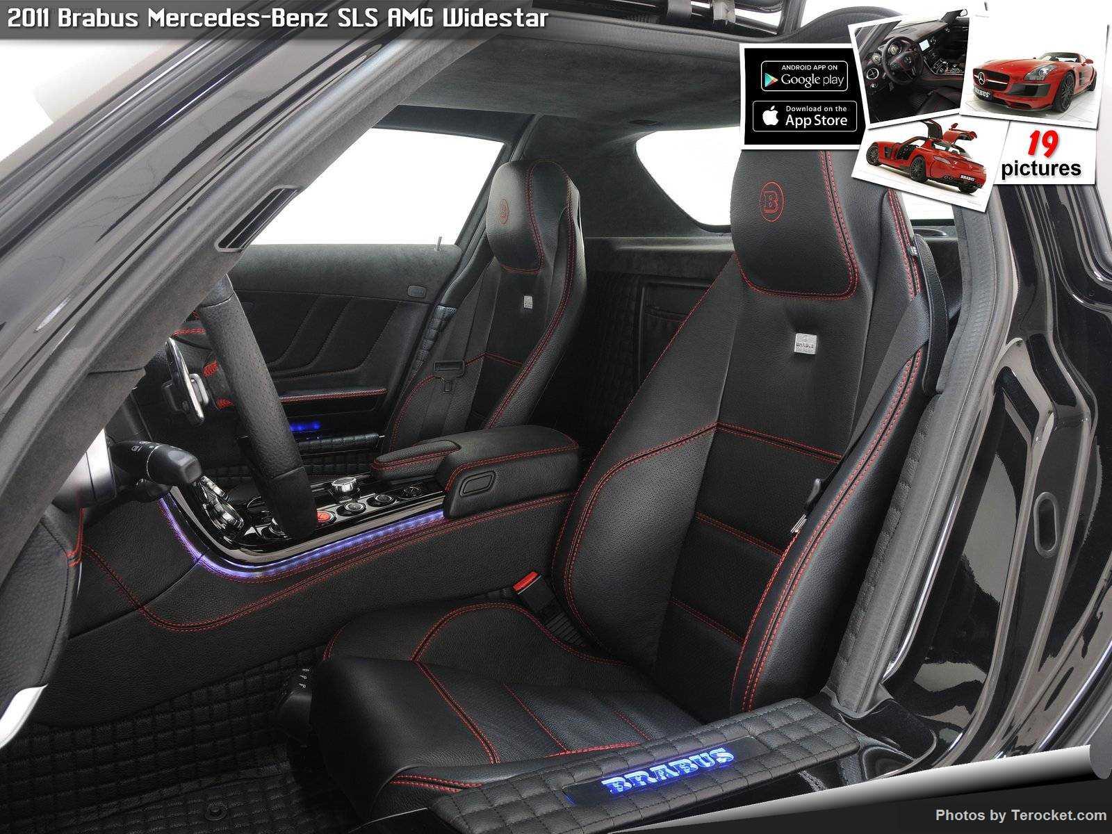 Hình ảnh xe ô tô Brabus Mercedes-Benz SLS AMG Widestar 2011 & nội ngoại thất