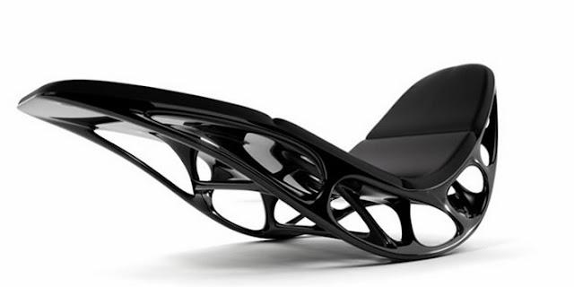необычное кресло в стиле хай-тек