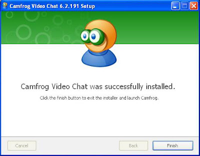 Installer Camfrog Video Chat 6.2