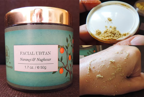 Forest Essentials Narangi & Nagkesar Facial Ubtan Review, Photos, Ingredients