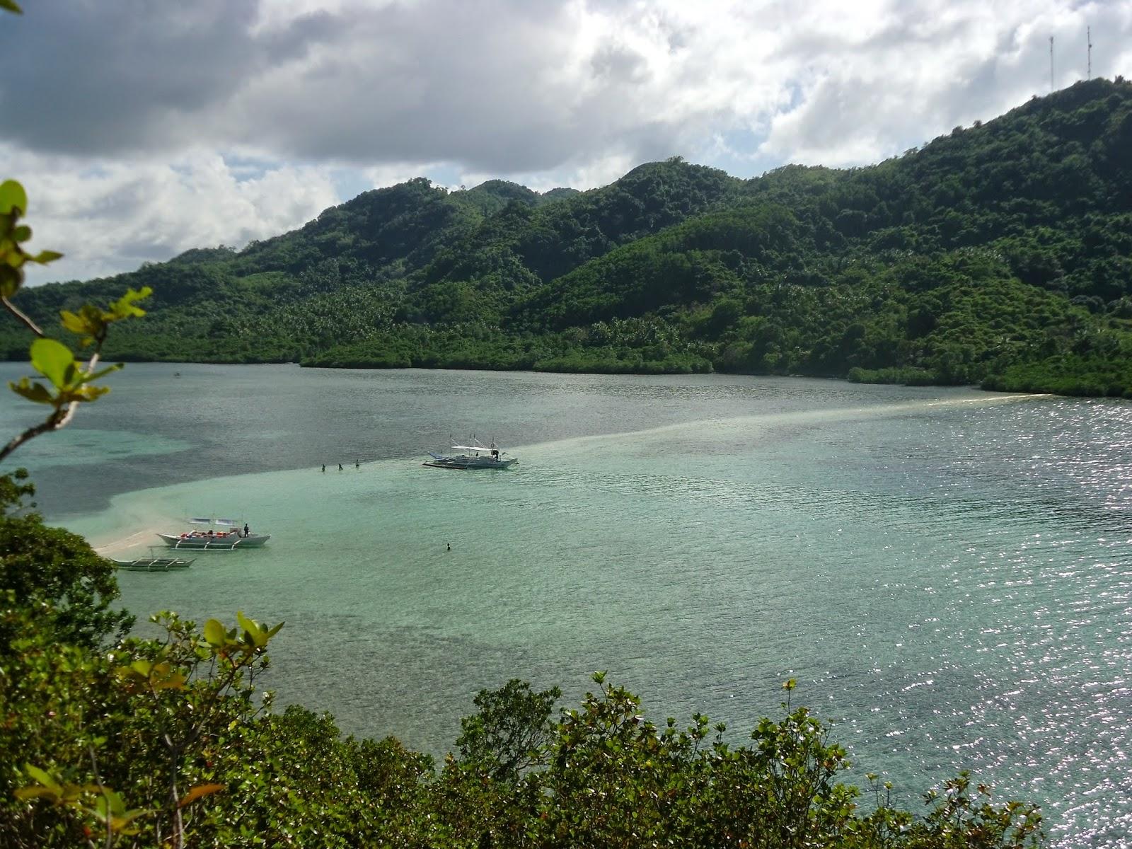 Snake Island vista de cima
