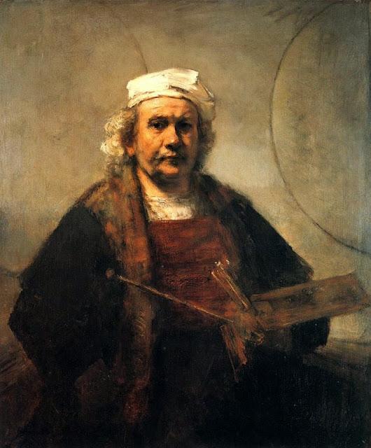 Autoportrait de Rembrandt, vers 1663
