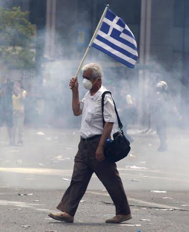 ''Siamo tutti greci'': oggi a Roma