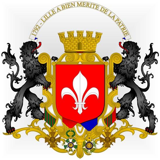 Armorial des communes de France: Lille - 59000 on
