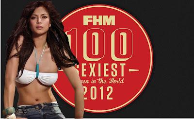 Angel Locsin leads FHM 100 Sexiest Women in the World 2012