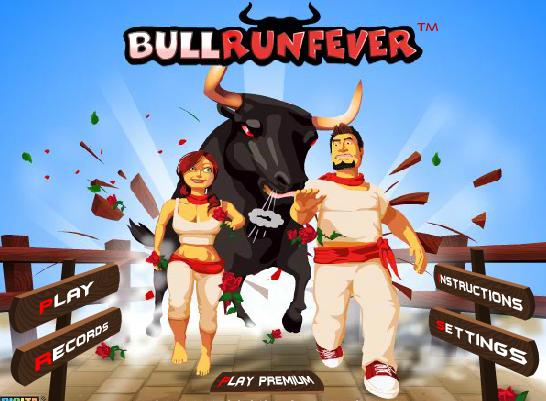 Juego de San Fermin 'Bull Run Fever'