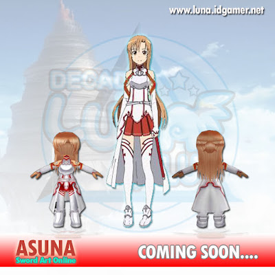 Asuna SAO Decade luna plus online private server