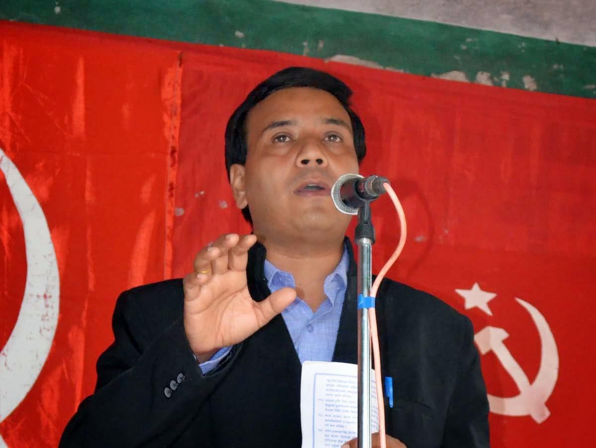 Former Rajya sabha MP Saman Pathak