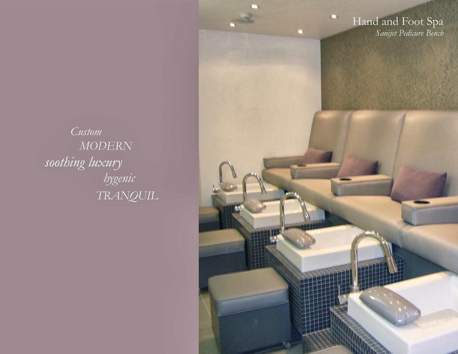 Michele pelafas furniture design manufacturing for Salon spa