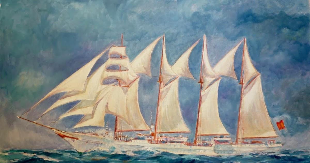 Pintura militar y naval como pintar al leo una marina - Como pintar al oleo paso a paso ...