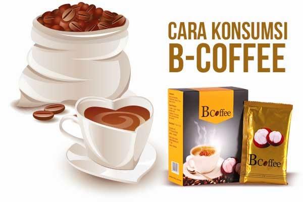 Cara Konsumsi B-Coffee