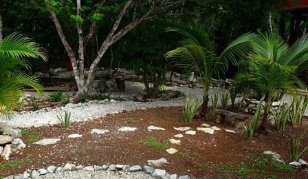 jardines rústicos económicos y ecológicos, jardines con piedras