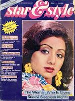 Not Sri. Till date Sridevi's gracing magazine covers and killin' it