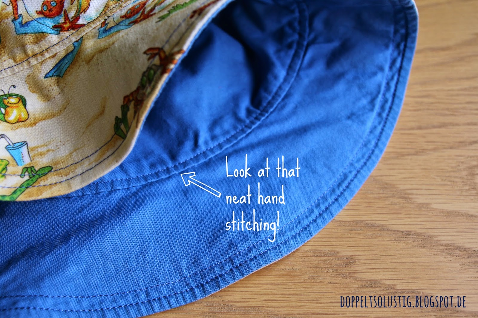 Hand sewn seam | Twice the fun